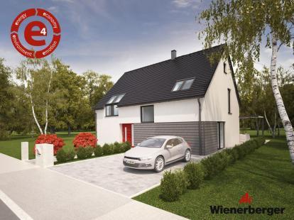 e4 opečna hiša. Hiša s pogledom v prihodnost!