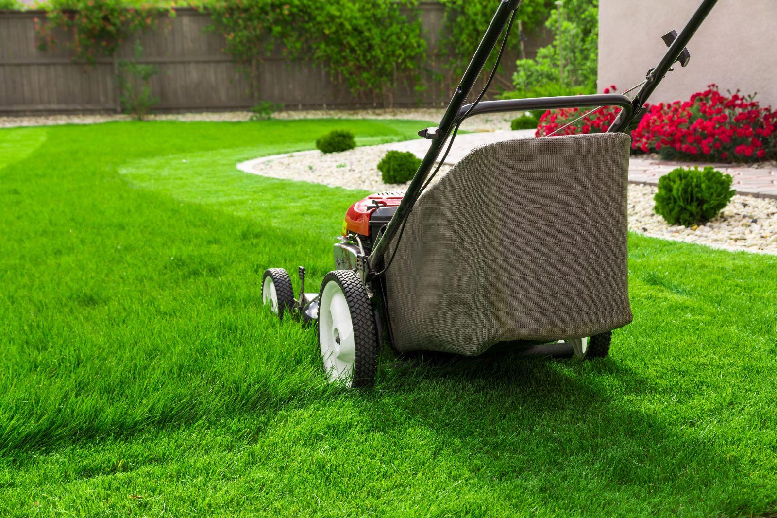 Košnja trave, zalivanje, gnojenje in prezračevanje