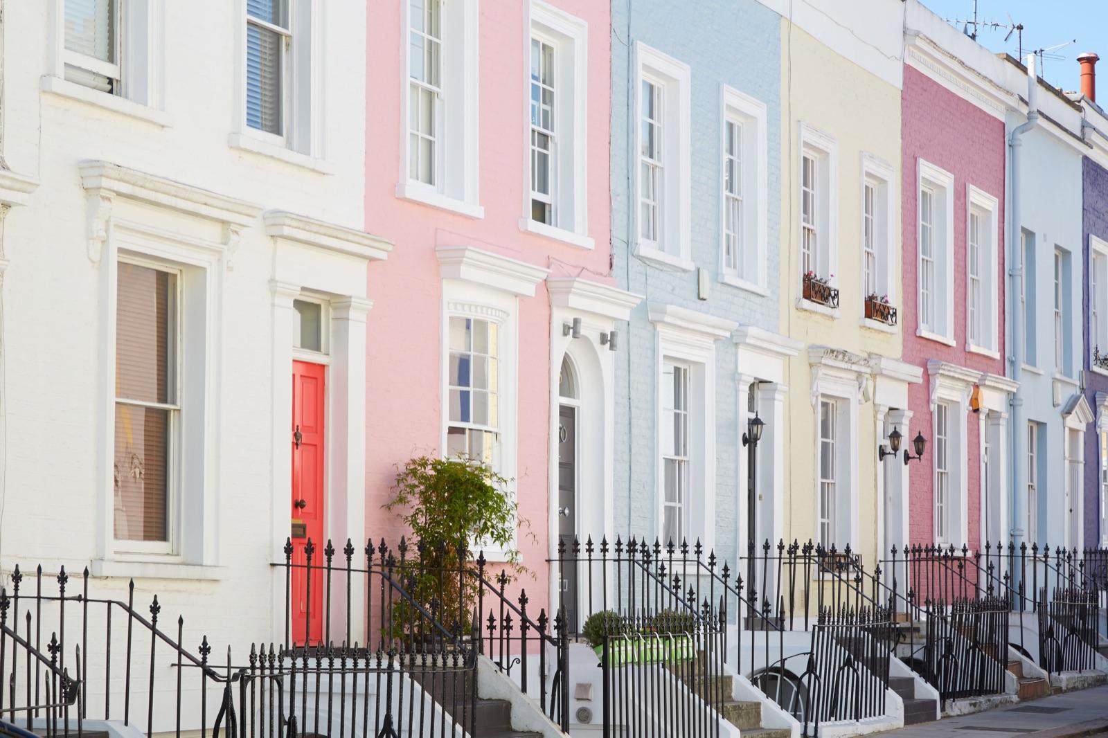 Barva fasade, vrste fasadne barve