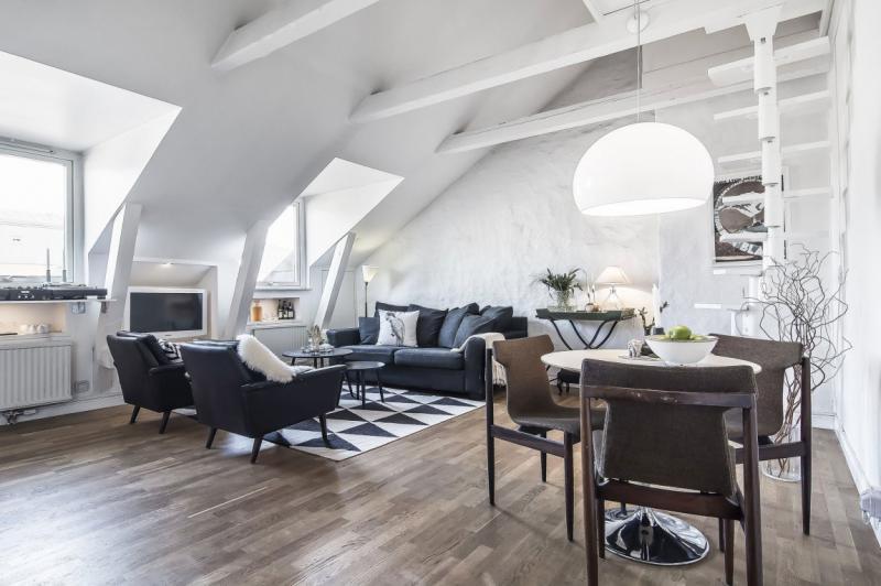 Izkoristite mansardo maksimalno z dobrim arhitektom in načrtom za ureditev mansarde