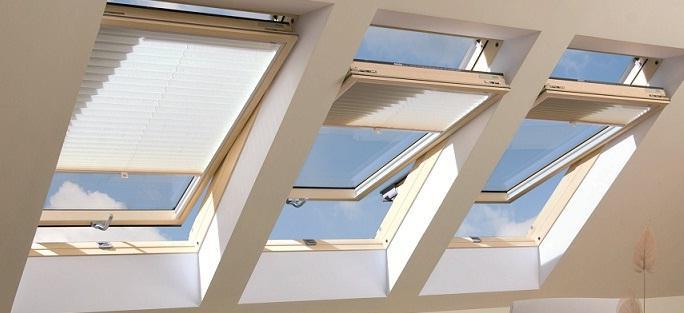Strešna okna, vgradnja