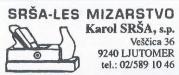 SRŠA-LES MIZARSTVO - KAROL SRŠA S.P.