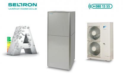Daikin Altherma HT visokotemperaturna toplotna črpalka