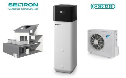 Daikin Altherma Compact nizkotemperaturna toplotna črpalka