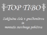 Top Tibo, Zaključna dela v gradbeništvu in montaža stavbnega pohištva, Borut Plahuta s.p.