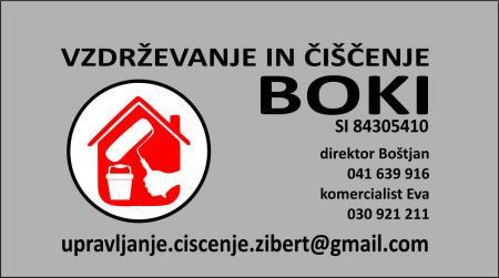 Boštjan Žibert s.p., vzdrževanje in hišniška dela