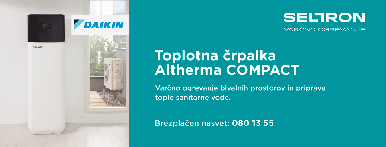 TOPLOTNA ČRPALKA DAIKIN ALTHERMA COMPACT