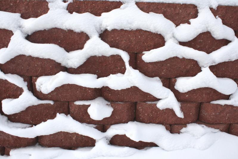 Gradnja hiše pozimi je mogoča vse dokler temperature ne padejo pod -5°