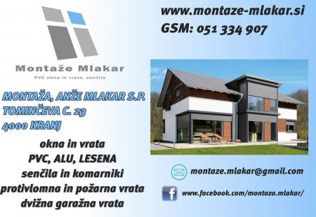 Montaža, Anže Mlakar s.p.