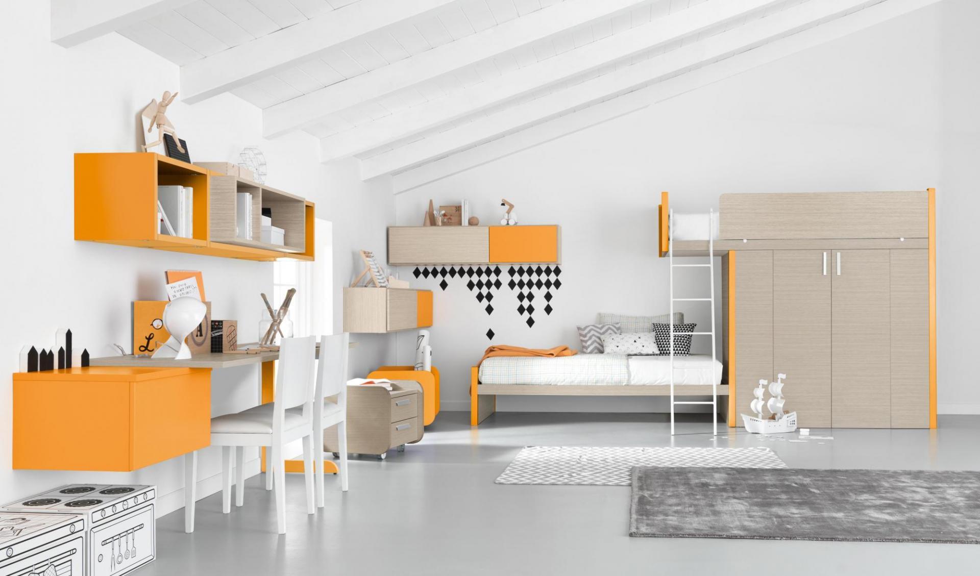 Cameretta per bambini poco spazio idee per la casa - Camerette in poco spazio ...