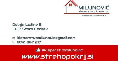 Krovstvo in kleparstvo, Slobodan Milunović s.p.
