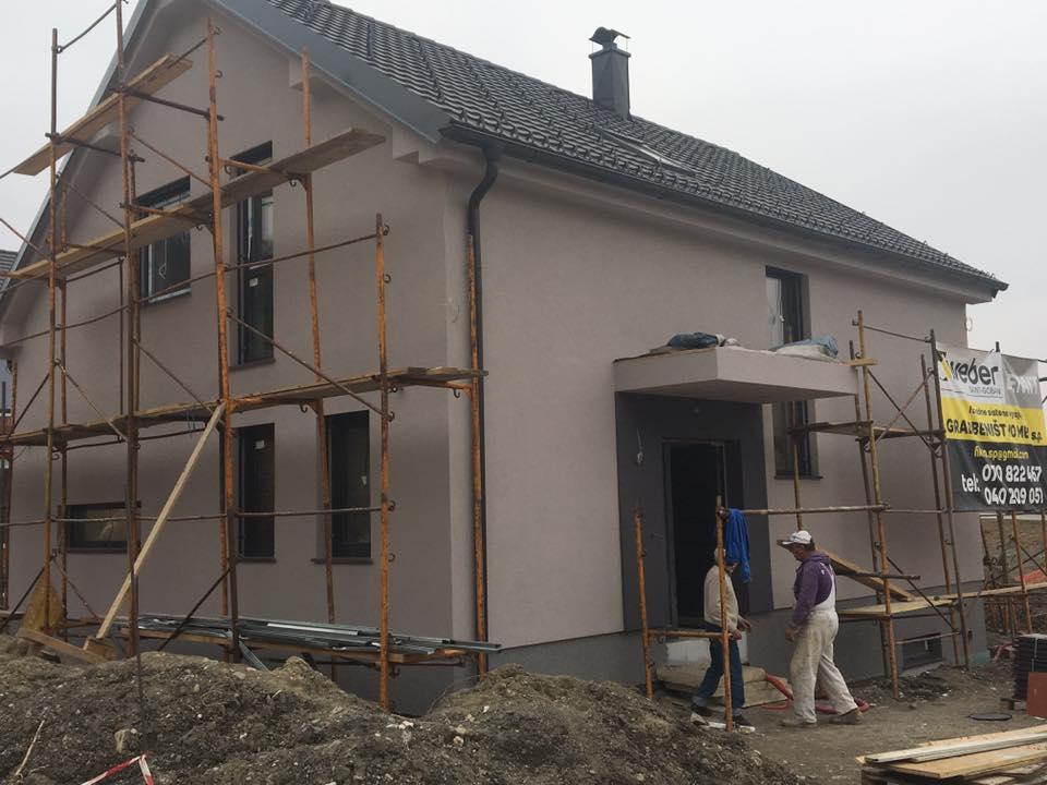 Izdelava Toplotne Fasade Po Sistemu Weber Kamnik Gradbenistvo Meli