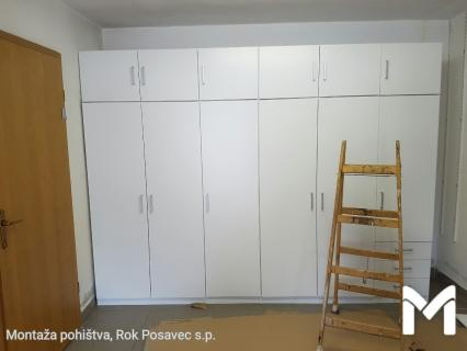 Montaža garderobnih omar