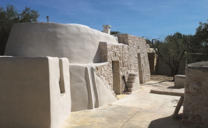 Obnova in razširitev trulle v Italiji